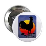 "Sunrise Rooster 2.25"" Button"