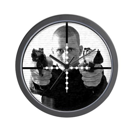 Sniper Scope Wall Clock