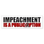 Impeachment Bumper Sticker (50 pk)