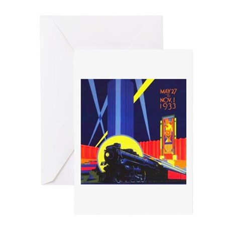 Chicago Worlds Fair Greeting Cards (Pk of 10)