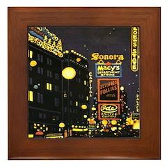 Broadway Framed Tile