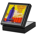Chicago Worlds Fair Keepsake Box