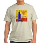 Chicago Worlds Fair Light T-Shirt