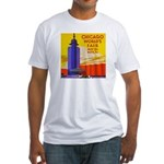 Chicago Worlds Fair Fitted T-Shirt