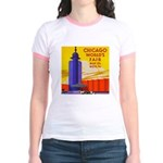 Chicago Worlds Fair Jr. Ringer T-Shirt