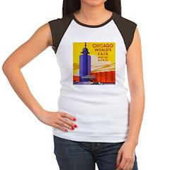 Chicago Worlds Fair Women's Cap Sleeve T-Shirt