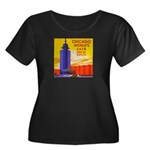 Chicago Worlds Fair Women's Plus Size Scoop Neck D