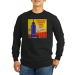 Chicago Worlds Fair Long Sleeve Dark T-Shirt
