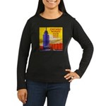 Chicago Worlds Fair Women's Long Sleeve Dark T-Shi