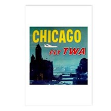 Chicago / TWA Postcards (Package of 8)