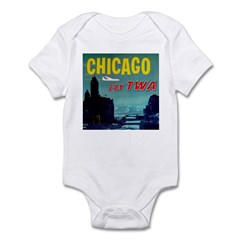 Chicago / TWA Infant Bodysuit
