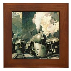 New York Central Framed Tile