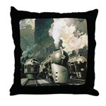 New York Central Throw Pillow