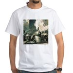 New York Central White T-Shirt