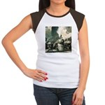 New York Central Women's Cap Sleeve T-Shirt