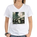 New York Central Women's V-Neck T-Shirt