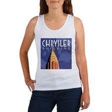 Chrysler Building Women's Tank Top