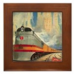 1937 Hiawatha Framed Tile
