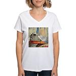 1937 Hiawatha Women's V-Neck T-Shirt