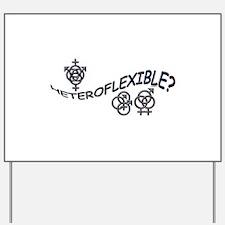 HETEROFLEXIBLE SWINGERS SYMBO Yard Sign