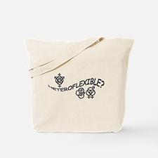 HETEROFLEXIBLE SWINGERS SYMBO Tote Bag