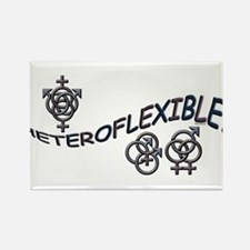 HETEROFLEXIBLE SWINGERS SYMBO Rectangle Magnet