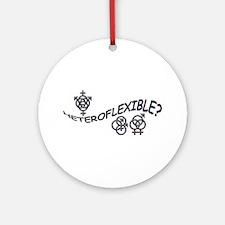 HETEROFLEXIBLE SWINGERS SYMBO Ornament (Round)