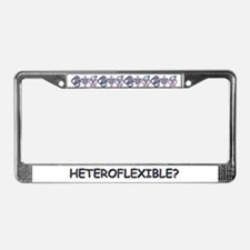 HETEROFLEXIBLE SWINGERS SYMBO License Plate Frame