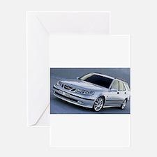 Saab 9.5 Greeting Card
