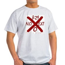 Katrina Graffiti Ash Grey T-Shirt Red