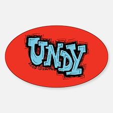 Undy Sticker (Oval)