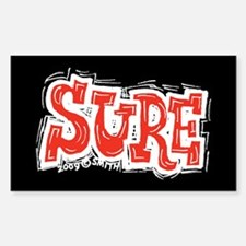Sure Sticker (Rectangle)