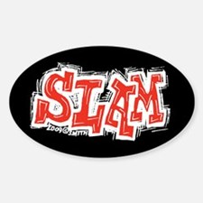 Slam Sticker (Oval)