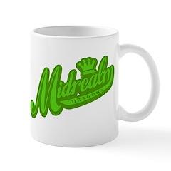 Midrealm green retro Mug