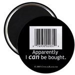 I can be bought UPC Magnet