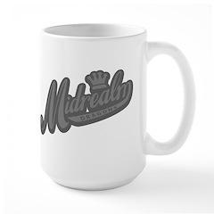 Grey Retro Mug