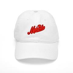 Red Retro Baseball Cap
