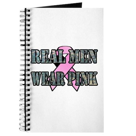 Real Men Wear Pink Journal