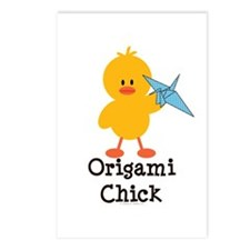 Origami Chick Postcards (Package of 8)