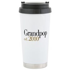 New Grandpop 2010 Travel Mug