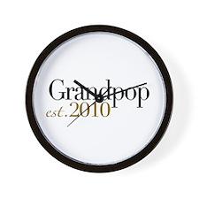 New Grandpop 2010 Wall Clock