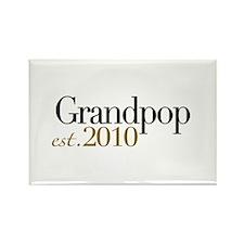 New Grandpop 2010 Rectangle Magnet