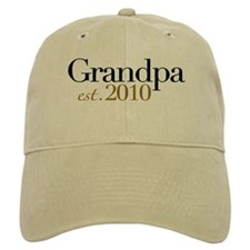 New Grandpa 2010 Baseball Cap