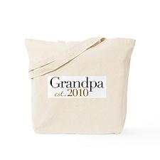 New Grandpa 2010 Tote Bag