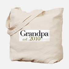 New Grandpa 2010 Tote Bag