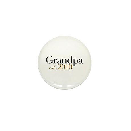 New Grandpa 2010 Mini Button (10 pack)