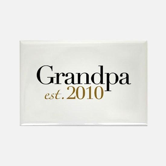 New Grandpa 2010 Rectangle Magnet