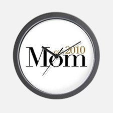 New Mom 2010 Wall Clock