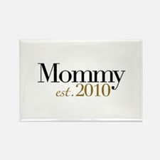 New Mommy 2010 Rectangle Magnet