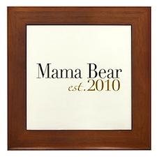 Mama Bear 2010 Framed Tile